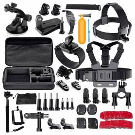 Kit de 60 accesorios para GO PRO con maletin