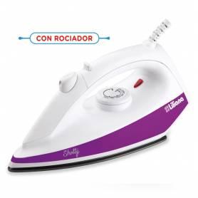 """Plancha seca Liliana """"SHOTTY"""" Con rociador - 1100w"""