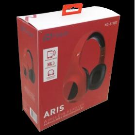 Auriculares Bluetooth Noganet  Aris NG-919BT-RJ