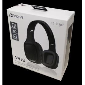 Auriculares Bluetooth Noganet  Aris NG-918BT
