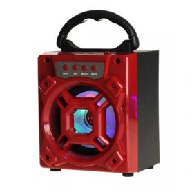 Parlante Portátil Bluetooth - KOLKE - KPP-227 BOXY Rojo