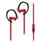 Auricular c/mic SPORT FIT Noga, NG-SF322 Rojo