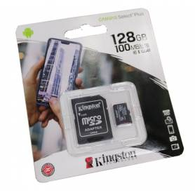 Tarjeta microSD Canvas Select Plus, 128gb Kingston