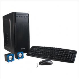 Gabinete Noga ET-7 Power Kit con Fuente ATX-550, Teclado Mouse y Parlantes