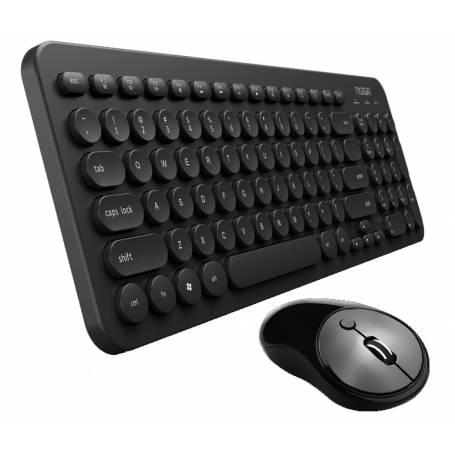 Kit Teclado y Mouse INALAMBRICO - Negro S5600