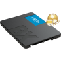 Crucial SSD 240GB SATA 3, BX500, Lectura 540 MB/s