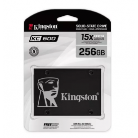 Disco SSD Kingston KC600 256 Gb 15x SATA Interno