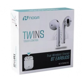 Auricular Bluetooth Noga NG-BTWINS 5S In Ear Inalambricos