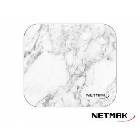 Mouse Pad diseno Marmol Blanco Netmak NM-M1224