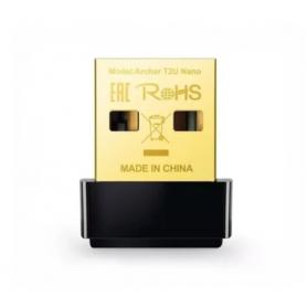 AC600 Archer T2U NANO Adaptador USB  inalámbrico 433 Mbps