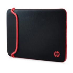 """Funda notebook 14"""" hp Reversible Negro/Rojo"""