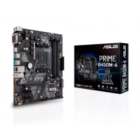 Motherboard ASUS PRIME B450M-A / USB 3. HDMI / Socket AM4