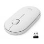 Mouse Logitech M350 Pebble blanco Bluetooth