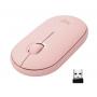Mouse Logitech M350 Pebble rosa Bluetooth