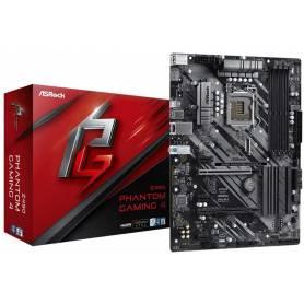 Motherboard ASRock Z490 Phantom Gaming 4 / soporta la 10 ª generación de procesadores Intel Core (socket 1200)