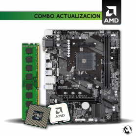 Combo AMD Ryzen™ 3 3200G  + Mother + 8 Gb DDR4  con Radeon™ RX Vega 8