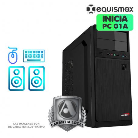 Pc Equismax Explora Cpu Amd E1 6010 Soc 8gb Ssd 120 Gb Pc01a