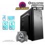 Pc Equismax GAMER AMD RYZEN 5 3400G / 16GB / SSD 240 GB / Geforce 1650. - PC11A -