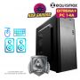 Pc Equismax GAMER Intel Core i5-10400F / 16GB / Geforce 1050Ti. / SSD 240GB + HD 1 TB - PC14A -