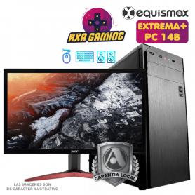 Pc Equismax GAMER Intel Core i5-10400F / 16GB / Geforce 1650. / SSD M2 240GB + HD 1 TB  + MONITOR - PC14B -
