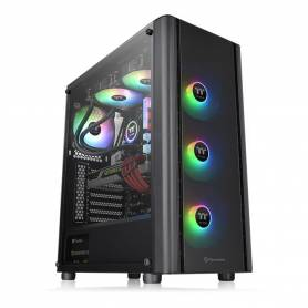 Gabinete GAMER Thermaltake V250 TG ARGB Tempered Glass