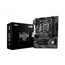 Motherboard MSI Intel B460M Pro / Socket 1200 / 10th Gen