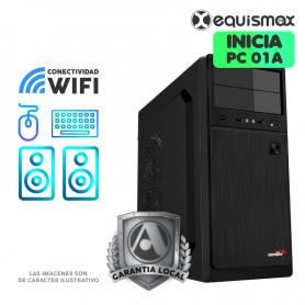 Pc Equismax Explora Athlon 3000G, 8GB de Ram, Disco SSD480  - PC01A -