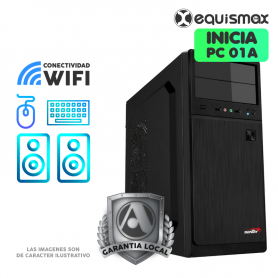 Pc Equismax Explora Athlon 320GE, 8GB de Ram, Disco SSD480  - PC01A -
