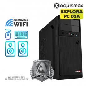 Pc GamerMini Aerocool Mecha, AMD Athlon™ 3000G / 16GB / SSD M.2 480GB / Video Radeon OB- PC03A -