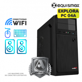 Pc Equismax Explora Intel i3-10100 8GB / SSD 240 GB - PC04A -