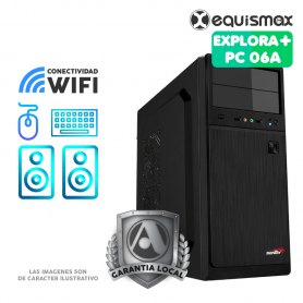 Pc Equismax Explora+ Intel Core i3-9100 / 16GB / SSD 240GB + HD 1TB - PC06A -