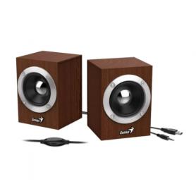 Parlante Genius SP-HF280, 6W - Woodem - Alimentacion USB