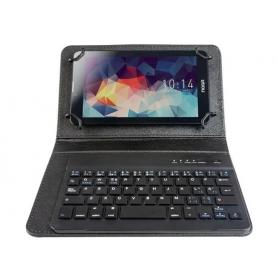 """Funda con teclado inalámbrico para tablet 7""""/8"""" NOGA NKB-BT7"""