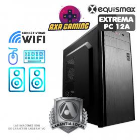Pc Equismax GAMER Intel Core i5-9400 / 16GB / Geforce 1650. / SSD 240 GB - PC12A -
