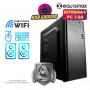 Pc Equismax GAMER AMD Ryzen 5 3600 / 16GB / Geforce 1050Ti / SSD M2 240GB + HD 1TB - PC13A -