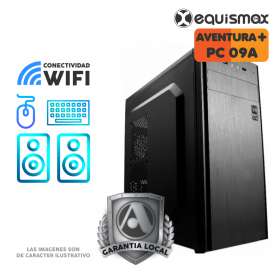 Pc Equismax Pro - AMD Ryzen™ 5 3400G / 16GB /  SSD 120 GB + HD 1 Tb - PC09A -