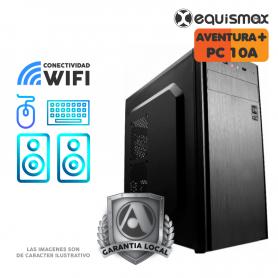 Pc Equismax Pro - intel i5-10400 / 16GB /  SSD 240 GB + HD 1 Tb - PC10A -
