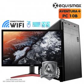 Pc Equismax Pro - intel i5-10400 / 16GB /  SSD 240 GB + HD 1 Tb + MONITOR - PC10B -