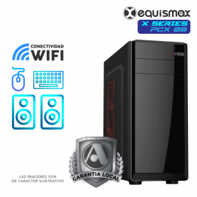 Pc Equismax X Series - Intel Core i7-10700 / 32GB / Radeon RX5600XT / SSD M2 500 GB + HD 1TB - PCX08 -