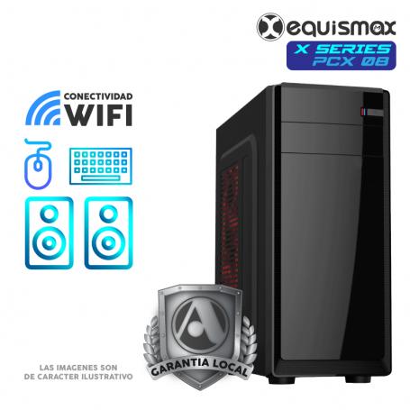 Pc Equismax X Series - Intel Core i7-10700 / 32GB / Geforce RTX 2060 / SSD M2 500 GB + HD 1TB - PCX08 -
