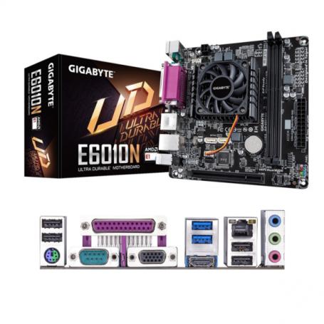 Motherboard Gigabyte Ga E6010n Con Cpu Amd E1 6010 Dual Core Apu Co