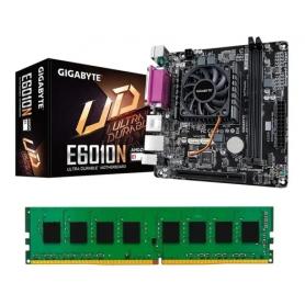Combo Actualice su Gigabyte GA-6010N con CPU Int. + 8 GB DDR3