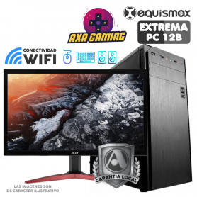 Pc Equismax GAMER Intel Core i5-9400F / 16GB / Geforce 1050Ti / SSD 240 GB + MONITOR - PC12B -