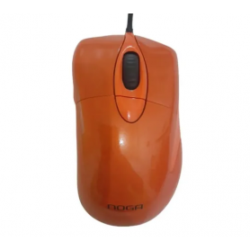 Mouse Gamer Noganet Stormer ST-G400 Led Colors Naranja