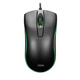 Mouse Gamer Noganet Stormer ST-900 Led Colors Blanco o Negro