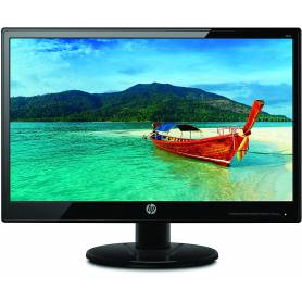 "Monitor HP 19KA led 18.5"" negro 110V/220V - VGA"