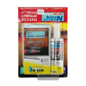 Kit limpiador de Pantallas DELTA