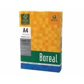 Resma Boreal A4 de colores 75 grs x 500 hojas