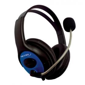 Auricular Gamer c/Micrófono Netmak NM-FURIOS  para Pc, PS4, XBox