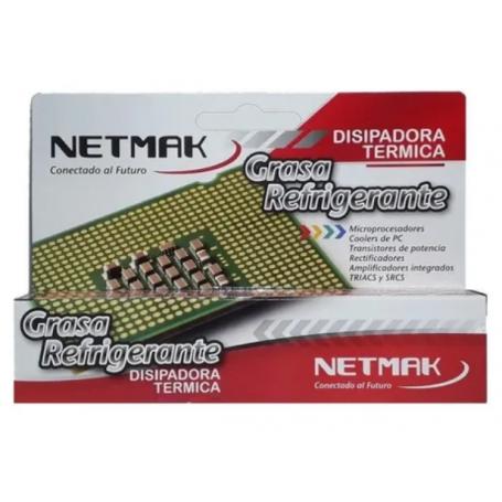 Grasa Refrigerante disipadora térmica 5cc NETMAK